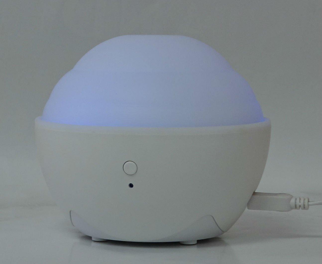 ZAQ Mini II USB Travel Litemist Aromatherapy Essential Oil Diffuser, White (Old Version)