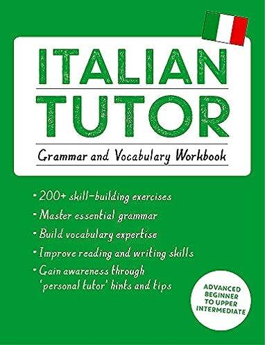DOWNLOAD PDF Italian Tutor: Grammar and Vocabulary Workbook
