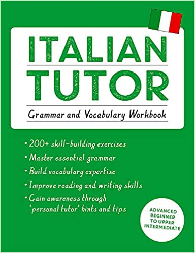 Amazon com: Italian Tutor: Grammar and Vocabulary Workbook