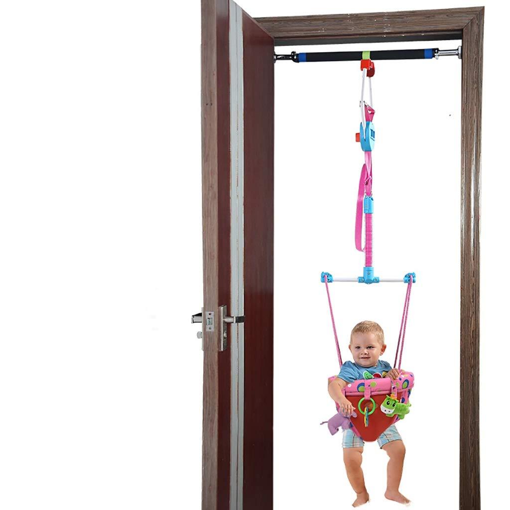 Baby Doorway Bounce Jump-Weg Exerciser Indoor Outdoor for Kleinkind-Kind-Kinder-Spielzeug Rosa T/ür Jumper und Crossbar T/ürhopser Baby Baby-Eingang Jumper A Crossbar