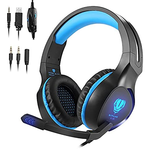 Xbox One Headsets,PlayStation 4 Nintendo Switch Headphones Pro 3.5mm Over-ear Noise Cancelling Hifi Bass Stereo Gaming Headset for PS4 Phone PC Xbox - Xbox 360 Usb Headset