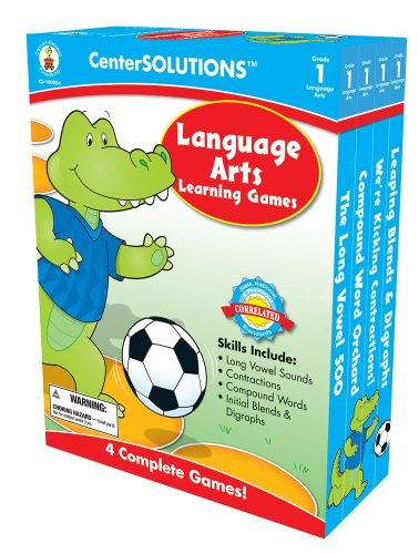 Carson-Dellosa Publishing Language Arts Learning Games, Grade 1