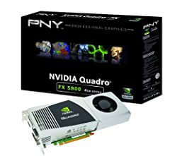NVIDIA Quadro FX 5800 by PNY ¿ Visualization Beyond 3D Whether searching for and extracting oil, designing and bringing the next luxury vehicle to market, or providing a diagnosis of a patient¿s condition, professionals are faced with a mount...