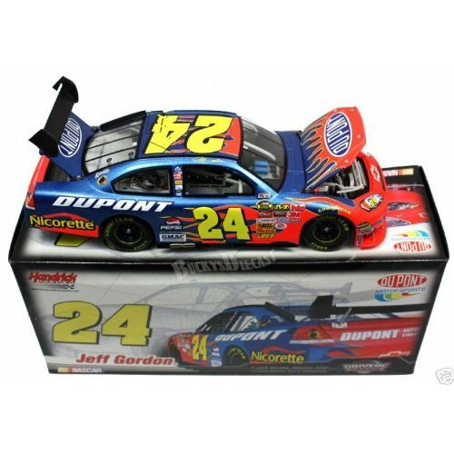 GM Dealers Edition Only 1200 Made Individually Serialized 2007 Jeff Gordon #24 Dupont Impala SS COT 1/24 Scale Diecast Hood, Trunk, Roof Flaps Open, Front Splitter Rear Wing Action Racing - Dupont Impala