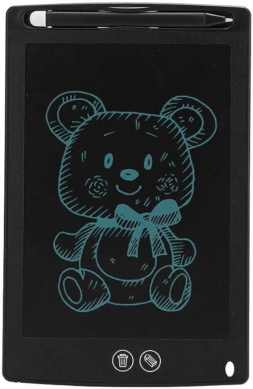 ポータブルタブレット、LCDドローイングボード、ライティングボード、8.5インチ(子供向け)(black)