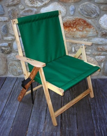Blue Ridge Extra Large Folding Deck Chair in Forest