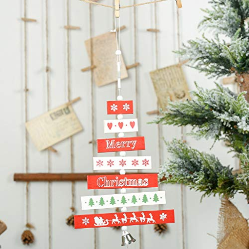 Nstcher 2019 Merry Christmas Home Decorations Christmas Tree Party Tree widget Pendant (2019 Rama Light O Christmas)