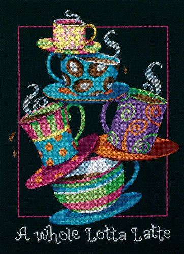 Dimensions(R) 11 Inch x14 Inch Counted Cross Stitch - A Whole Lotta ()