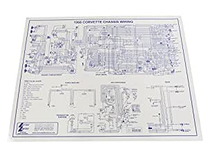 77 corvette wiring diagram free download amazon.com: 1966 corvette wiring diagram 17 x 22: automotive