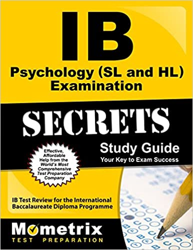 ib psychology sl and hl examination secrets study guide ib test