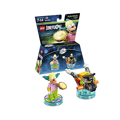 The Simpsons Homer Simpson Level Pack + Bart Simpson + Krusty + Scooby Doo Team Pack - Lego Dimensions (Non Machine Specific) by WB Lego (Image #3)