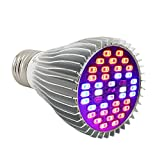 Segreto Hydroponic 40pcs 30W LED Greenhouse Growing and Flowering Lamps for Indoor Garden and Hydroponic Plants