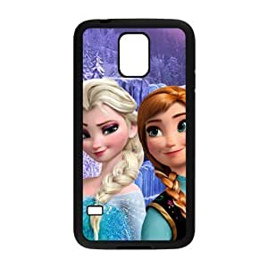 WWWE Frozen Princess Elsa and Anna Cell Phone Case for Samsung Galaxy S5