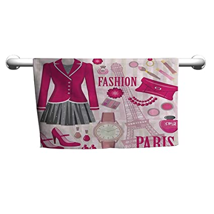 Amazon Com Flybeek Girly Decor Fashion Theme In Paris With