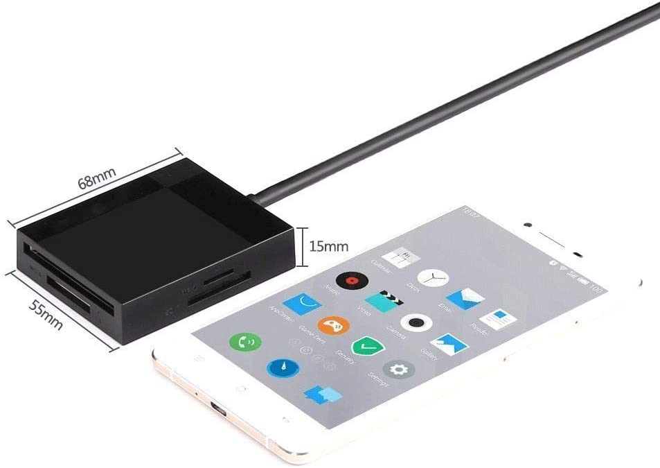 TF Flmn USB 3.0 Card Hub Adapter SD Card Reader Reads 4 Cards CF SDXC SD Card Reader CFI SDHC