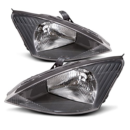Ford Focus Headlight OE Style Replacement Headlamp Driver/Passenger Pair - Ford Focus Headlamp