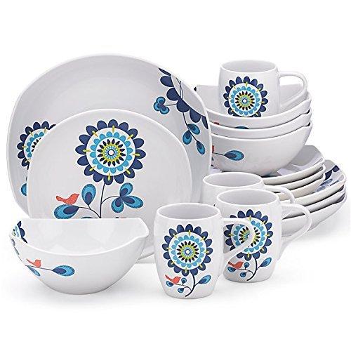 Dansk 16 Piece - Dansk Dinnerware, Classic Fjord Tweet 16-Piece Set by Dansk