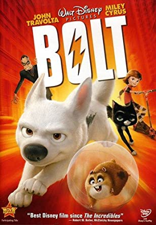 Amazon com: Bolt (Single-Disc Edition): John Travolta, Miley