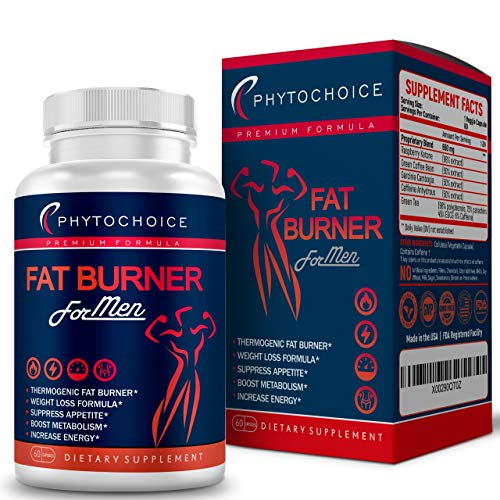 Best Fat Burner for Men-Muscle Preserving Weight Loss Pills-Appetite Suppressant Diet Pills that Work Fast for Men and Women-Keto Friendly Thermogenic Belly Fat Burner for Men-Lose Weight Fast-60 caps