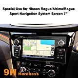 LFOTPP Nissan Rogue Altima Rogue Sport 7-Inch Car Navigation Screen Protector GLASS, [9H] Tempered Glass In-Dash Infotainment Center Touch Screen Protector Anti Scratch High Clarity