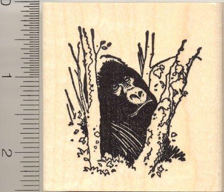 Gorilla Rubber Stamp