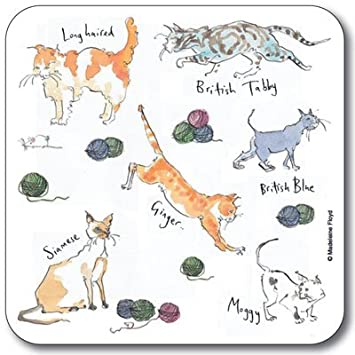 Compra Madeleine Floyd Posavasos - impresión de Gatos - Juego de 6 en Amazon.es
