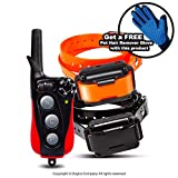 Dogtra Extreme Consumer Products IQ Plus Training Collar with Remote for 2 Dogs - Pet Smart Collar for Dogs - 1/4 Mile Signal Range - Includes Soft Silicone Pet Grooming Glove