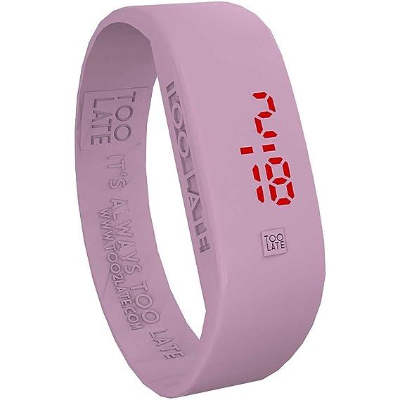 nuova collezione 4aae0 cde79 orologio solo tempo unisex Too late Original misura S casual ...