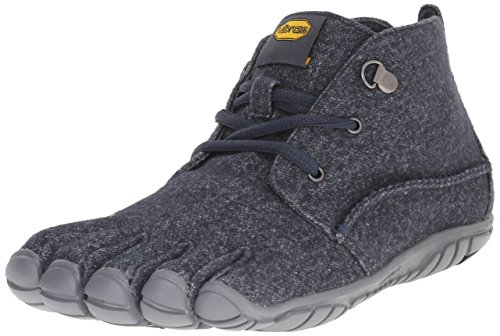 Vibram Men's CVT-Wool-Men's Shoe, Navy/Grey, 44.0 D EU (10.5-11 US)