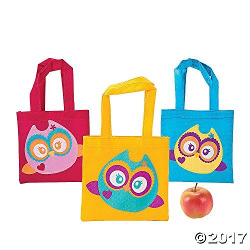 Mini Owl Tote Bags -