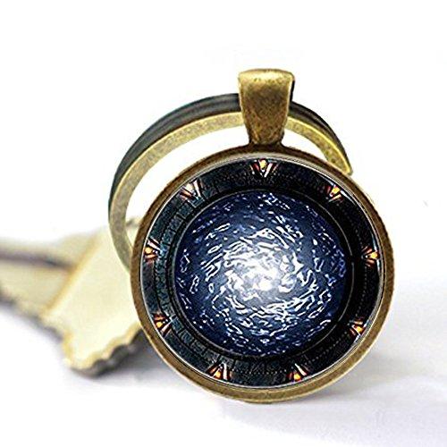 Stargate Portal SG1 Keychain ,Stargate Portal SG1 Keychain,Stargate Portal SG1 Keychain,Unique Key Ring Customized Gift