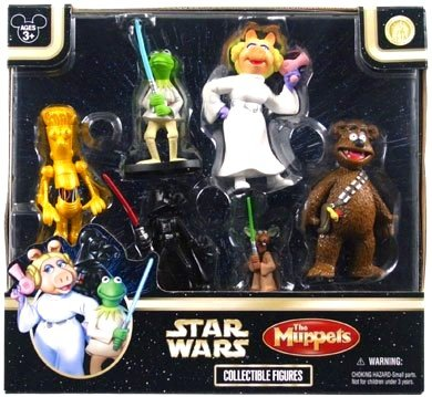 Star Wars Muppets - Disney Star Wars Muppets Figurine Figure Set [Star Tours]