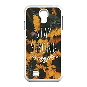 Stay Strong DIY Cover Case for SamSung Galaxy S4 I9500,personalized phone case case607688