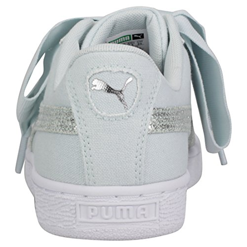 Basket Azul Pearl Rose Puma White Puma Heart Canvas 2018 Gold Wn's OfrwxCWOqU
