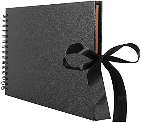 /álbum de Fotos para Libros de Recuerdos de Boda OneMoreT /Álbum de Fotos de 80 p/áginas /álbum de Recortes /álbum de Recortes
