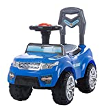Baybee Range Mover Ride On Push Car Toy I No batteries, gears, or pedals,Twist, Turn, Wiggle for endless fun I Suitable For Boys & Girls - ( Blue )