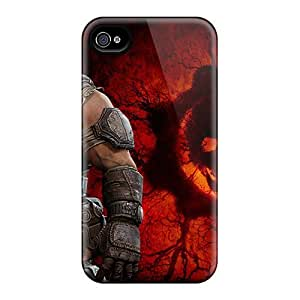 taoyix diy Iphone 5/5s Case, Premium Protective Case With Awesome Look - Marcus In Gears Of War 3