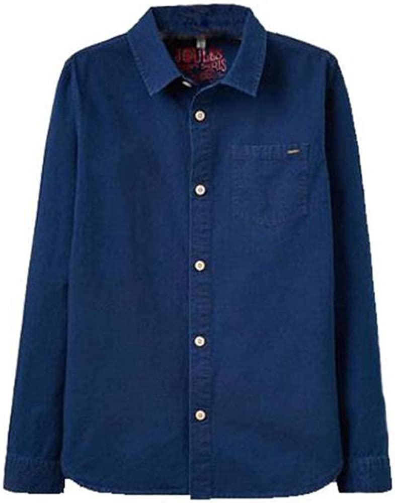 Joules - Camisa - con Botones - para niño Azul Azul Marino X-Small: Amazon.es: Ropa y accesorios