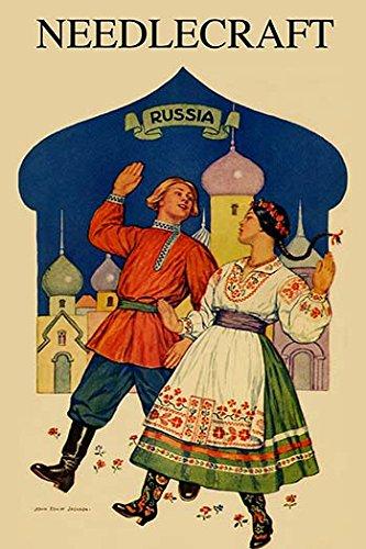 Buyenlarge 0-587-24737-1-C4466 Russian Dancers in A Folk