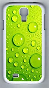 3D The Blister Green Crystal Clear Blisters PC Hard Case Cover For Samsung Galaxy S4 SIV I9500 Case and Cover White