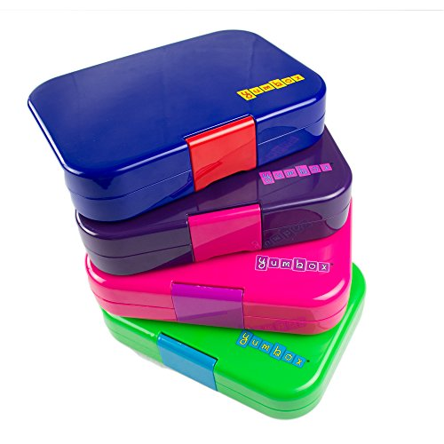 Amazon.com Yumbox Leakproof Bento Lunch Box Container (New Design Pomme Green) for Kids Kitchen u0026 Dining  sc 1 st  Amazon.com & Amazon.com: Yumbox Leakproof Bento Lunch Box Container (New Design ... Aboutintivar.Com