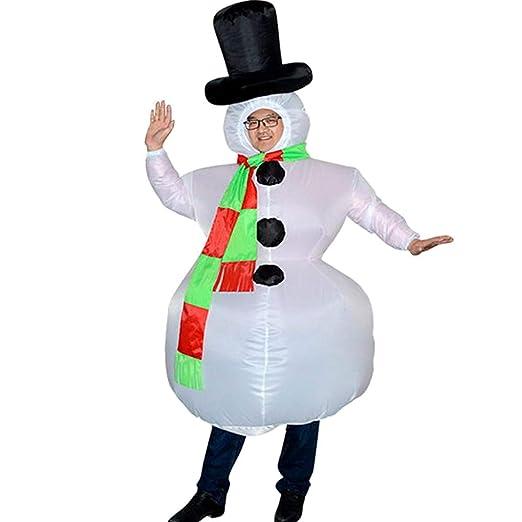 Disfraz de muñeco de Nieve Inflable LOL lo Christmas para Adultos ...