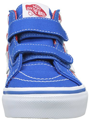 Vans Uy Sk8-mid Reissue V - Zapatillas Niños Azul (Checkerboard Racing Red/imperial Blue)