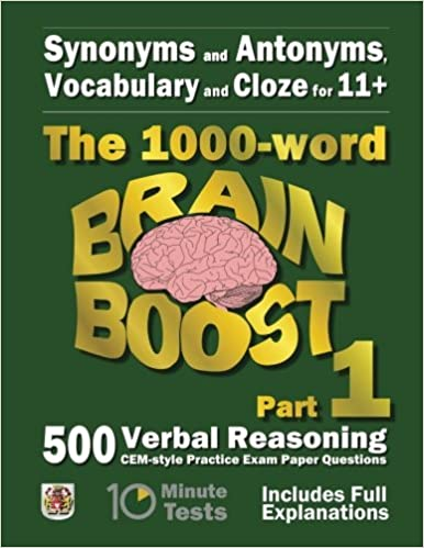 Amazon.com: Synonyms and Antonyms, Vocabulary and Cloze: The 1000 ...