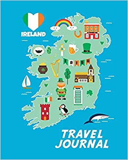 Interactive Map Of Ireland For Kids.Travel Journal Map Of Ireland Kid S Travel Journal Simple Fun