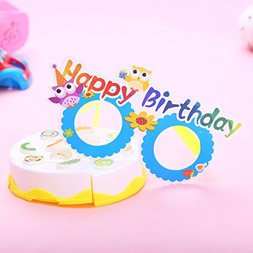 Qiyun 12 Pcs/lot Funny Cartoon Paper Glasses Kids Gift Photo Booth Props Halloween Christmas Party Decorationstyle:Halloween