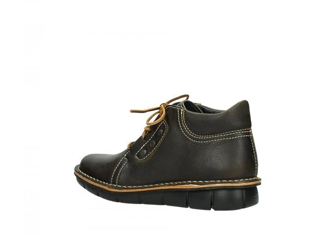 Comfort Schnürschuhe Tara - 50003 Schwarz Leder - 36 Wolky Große Auswahl An Rabatt-Codes Wirklich Billig Großhandel Qualität Verkauf Ausgezeichnet RShA6mp6J