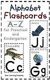Alphabet Flashcards A-Z for Preschool and Kindergarten