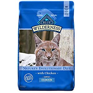 Blue Buffalo Wilderness High Protein, Natural Adult Indoor Dry Cat Food