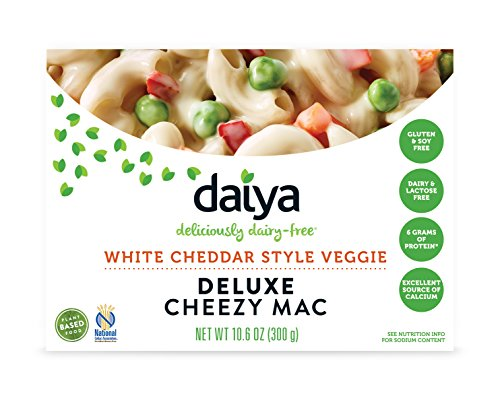Daiya Cheezy Mac, White Cheddar Style Veggie :: Rich & Creamy Plant-Based Mac & Cheese :: Deliciously Dairy Free, Vegan, Gluten Free, Soy Free :: With Gluten Free Noodles, 10.6 Oz. Box (8 Pack)